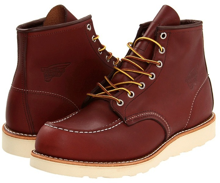 Red Wing Shoes Red Wing Heritage 6 Moc Toe Lace Up Boots | Where ...