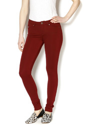 Abby Taylor Burgundy Metro Jeggings