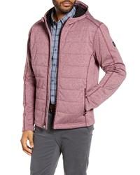 Burgundy Lightweight Puffer Jacket