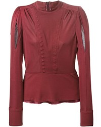 Maison Margiela Flared Stylised Blouse