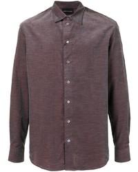 Emporio Armani Long Sleeve Buttoned Shirt