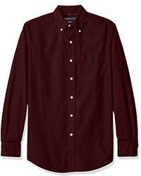 U.S. Polo Assn. Long Sleeve Solid Oxford Cloth Button Down Woven Shirt