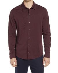 Vince Pima Cotton Button Up Shirt
