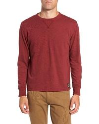 Frye Long Sleeve Slub Crewneck T Shirt