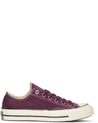 1405df6458e4 Converse Burgundy Chuck Taylor All Star 1970s Sneakers