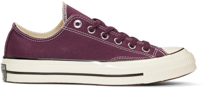 60e524c88f2d6c Burgundy Chuck Taylor All Star 1970s Sneakers. Burgundy Low Top Sneakers by  Converse