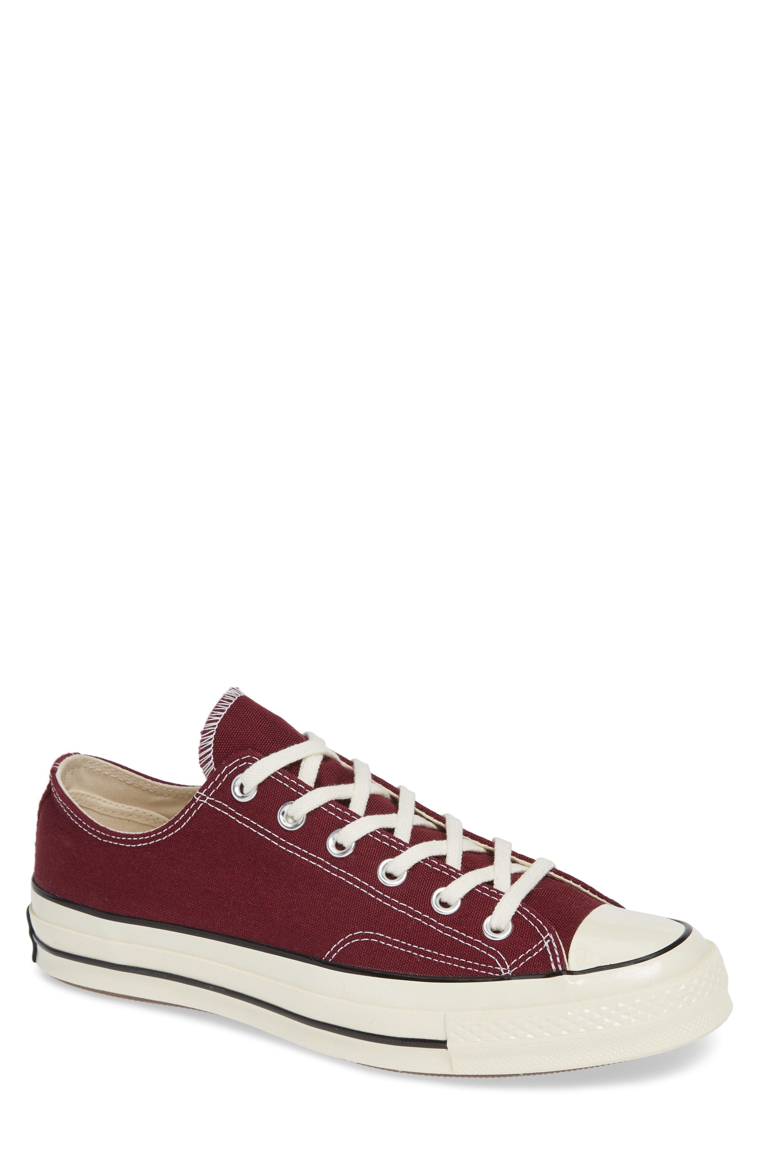 9800f579d981 ... Burgundy Low Top Sneakers Converse Chuck Taylor 70 Low Top Sneaker