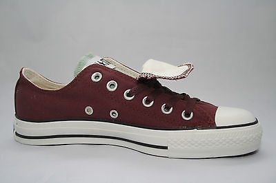 Ox Star Chuck Laces Burgundy Pr Taylor 2 Double Converse Tongue Maroon All 8BwHq4q