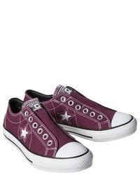 ... Converse One Star One Star Slip On Sneaker Burgundy f11fc8693