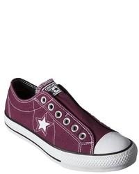 Converse One Star One Star Slip On Sneaker Burgundy