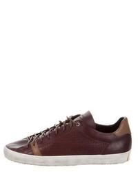 rag & bone Perforated Low Top Sneakers