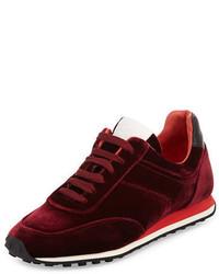 Rag & Bone Dylan Velvet Low Top Sneaker