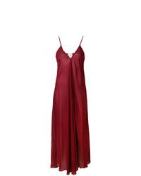 Draped flared dress medium 7694813