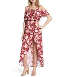 Mimi chica cold shoulder asymmetrical maxi dress medium 4913241