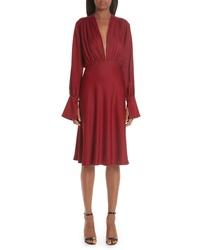 1d03beb3105 Burgundy Midi Dresses for Women