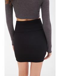 Black mini bodycon skirt – Fashionable stylish clothes this season