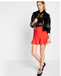 High waisted flippy mini skirt medium 5027882
