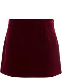 Straight mini skirt medium 4395381