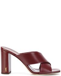 Saint Laurent Lou Lou Mule Sandals