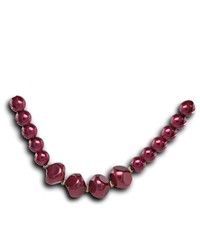 VistaBella Fashion Red Pearl Beads Adjustable Necklace