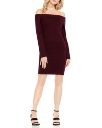 Vince Camuto Off The Shoulder Sweater Dress