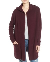 Hooded Longline Cardigan