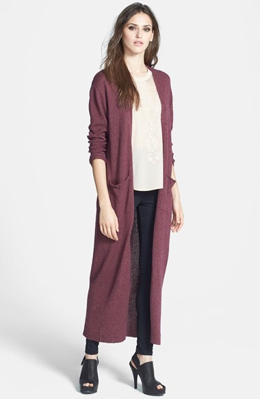 Leith Maxi Long Cardigan | Where to buy & how to wear