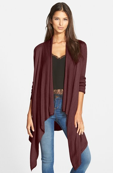 Leith Waterfall Open Front Cardigan | Where to buy & how to wear