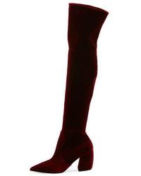 Prada Stretch Over The Knee Boot