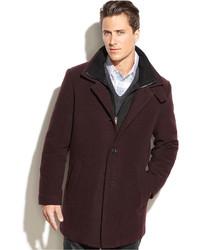 Burgundy Overcoat