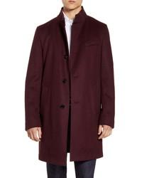 BOSS Shanty Wool Cashmere Overcoat