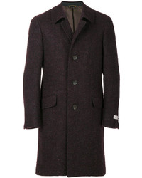 Canali Single Breasted Fitted Coat