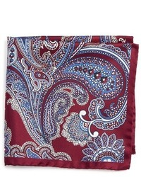 Paisley silk pocket square medium 1024886