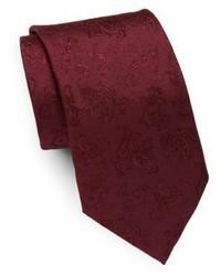 Eton Italian Silk Tonal Paisley Tie