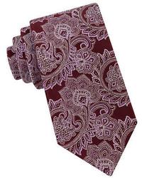 Ike By Ike Behar Silk Paisley Tie