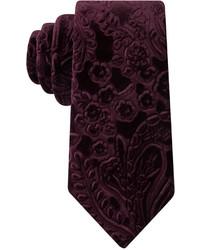 Sean John Velvet Paisley Slim Tie