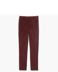 J.Crew Petite Maddie Pant In Two Way Stretch Cotton
