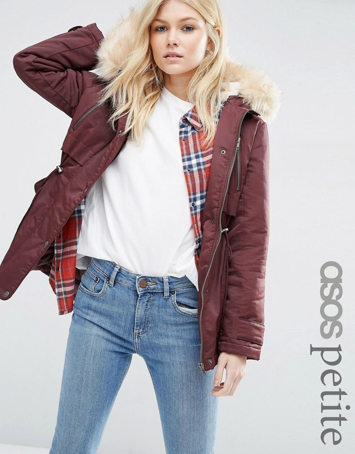 the cheapest new list shoes for cheap $83, Asos Petite Petite Ultimate Parka
