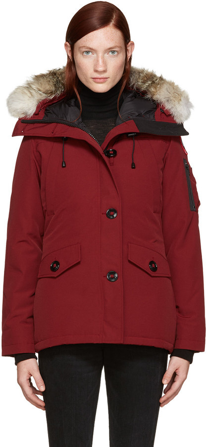 canada goose montebello parka red uk