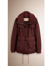 Burberry Technical Parka With Down Filled Warmer