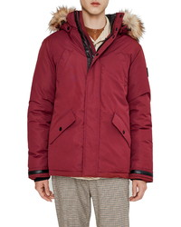 NOIZE Wilder Parka With Faux