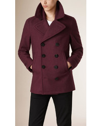 Burberry Wool Cashmere Pea Coat