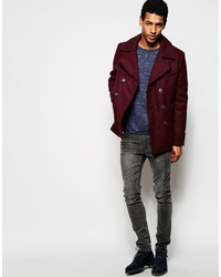 Selected Homme Wool Mix Peacoat   Where to buy & how to wear