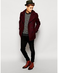Selected Wool Pea Coat   Where to buy & how to wear