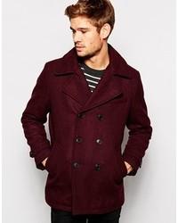 Selected Wool Pea Coat