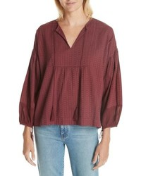 The Great The Panel Tunic Top