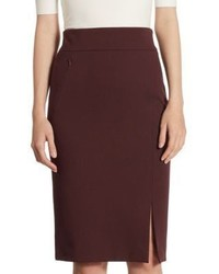 Akris Punto High Waist Pencil Skirt