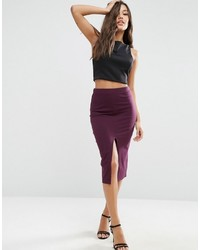 Pencil skirt with front split medium 924183