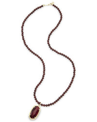 Kendra Scott Marlowe Beaded Pendant Necklace