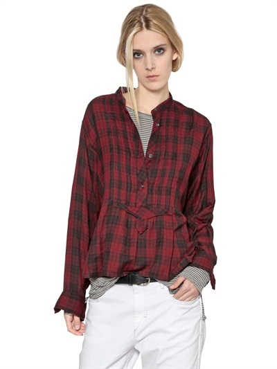 etoile isabel marant plaid cotton flannel shirt where to. Black Bedroom Furniture Sets. Home Design Ideas